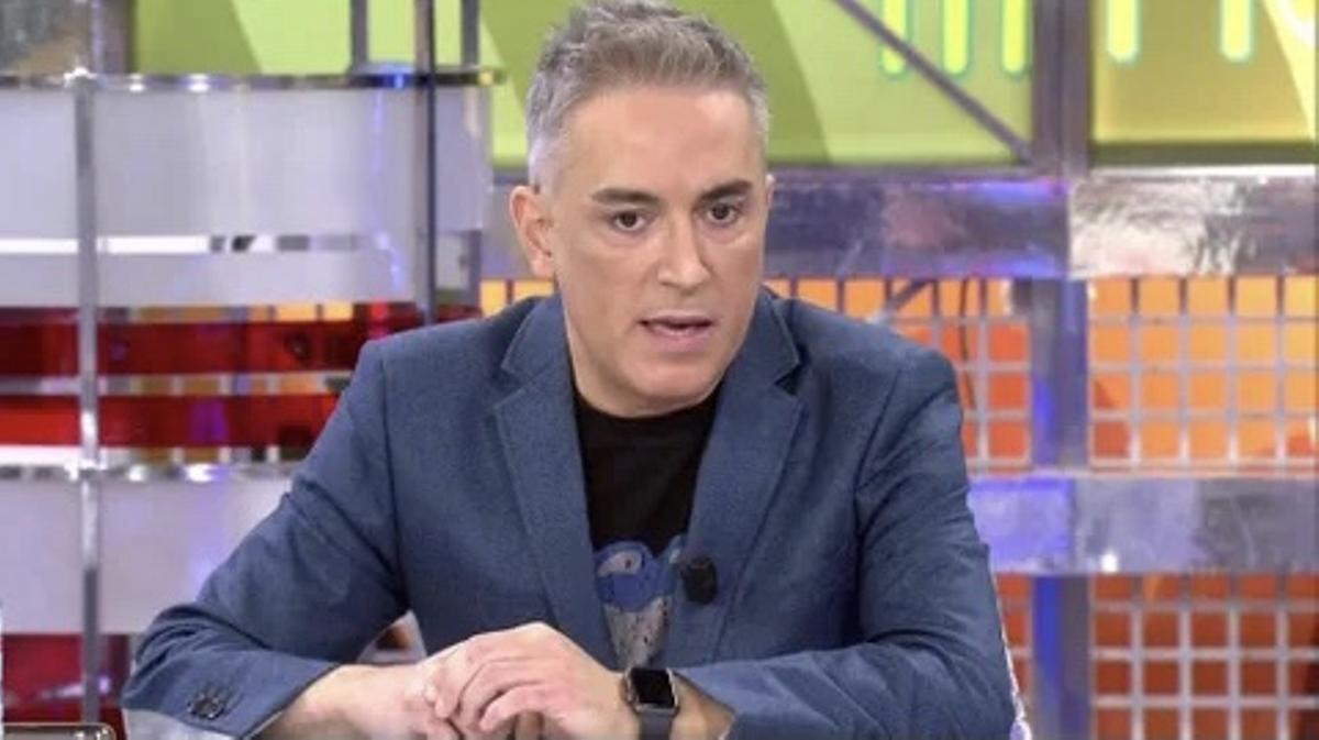 Kiko Hernández impacta en 'Sálvame' con un cambio de imagen radical: nuevo tinte de pelo y rayos UVA