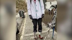 Multado un esquiador en Sierra Nevada por saltarse estado de alarma.