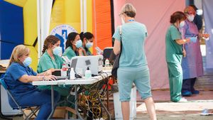 Comienzan los cribados masivos en Terrassa por el aumento de casos de coronavirus.