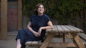 Entrevista con la alcaldesa de Barcelona, Ada Colau