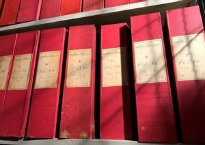 Algunos de los documentos del Archivo Apostólico sobreel papado de Pío XII hechos públicos.
