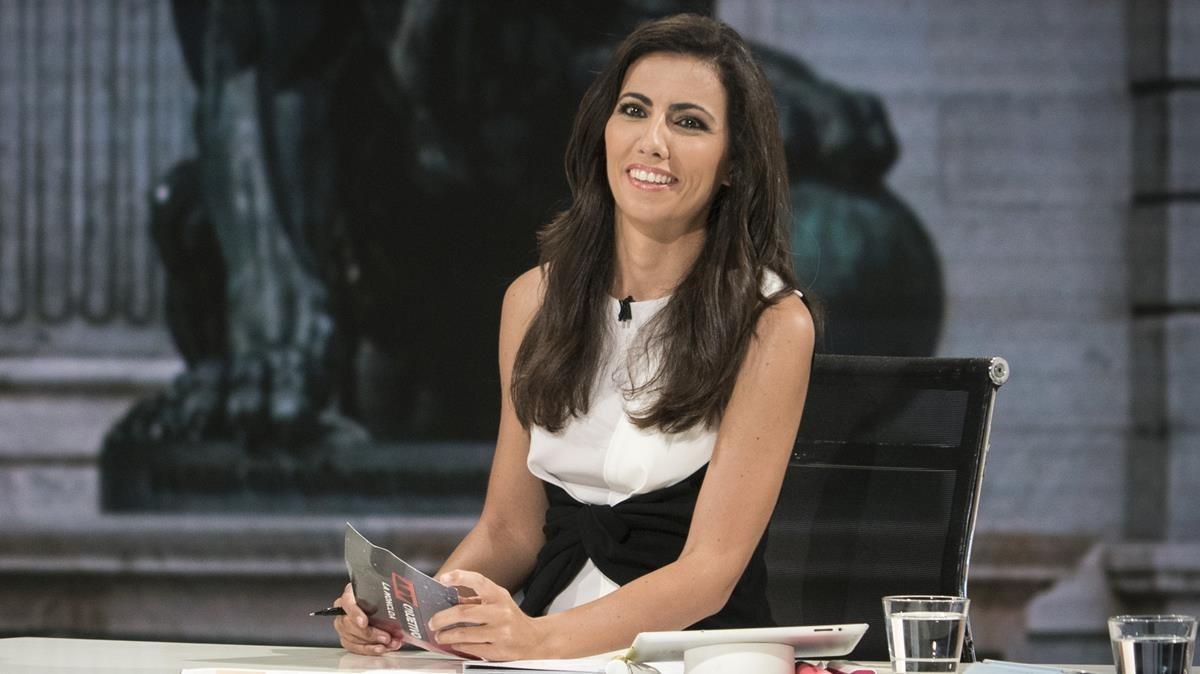 Ana Pastor, directora y presentadora del programa de La Sexta 'El objetivo'.