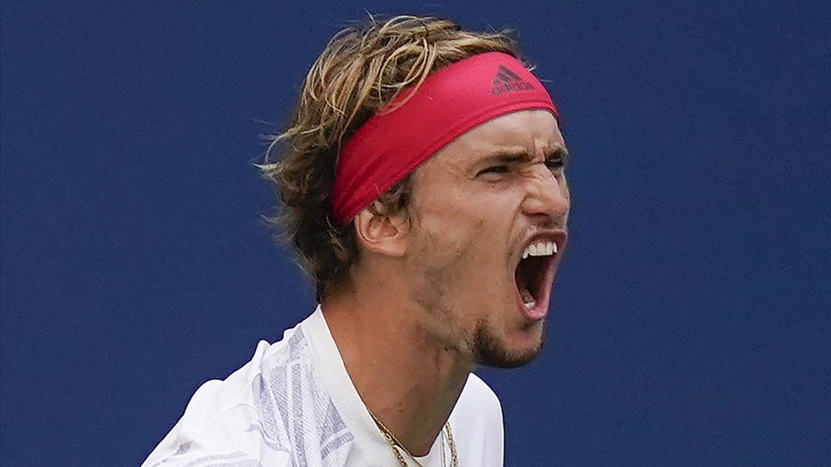 El tenista alemánAlexander 'Sascha'Zverev.