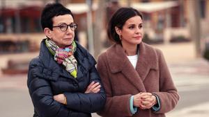 La chef Carme Ruscalleda y Marta Torné en el programa 'Persona infiltrada' (TV-3).