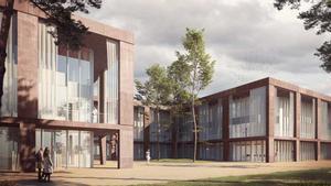 Futuro edificio del Vall d'Hebron Institut de Recerca (VHIR).