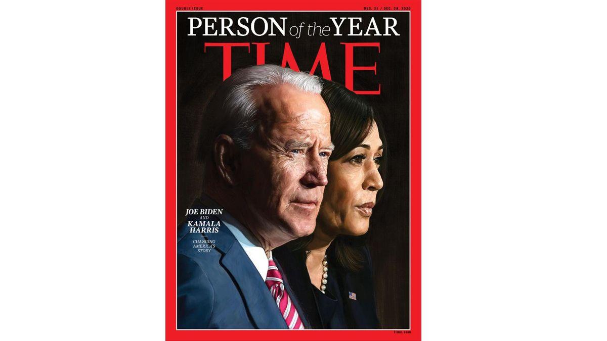 Biden y Harris, personas del año 2020 de la revista 'Time'