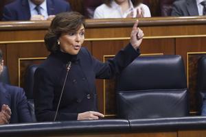 Calvo defensa que l'estat d'alarma és «garantista» i no suprimeix drets