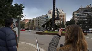 Plaza de la República, en Nou Barris.