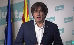 Carles Puigdemont, en diciembre del 2020.