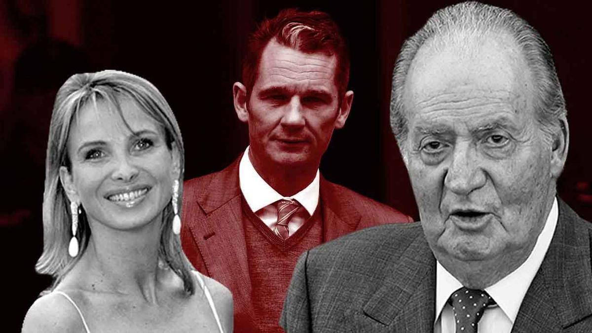 """Corinna señala a Juan Carlos I como """"pieza clave del caso Noós"""""""