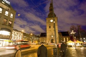 Oslo, capital de Noruega.