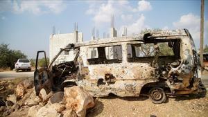 El terrorista mas buscado del mundo Abu Bakr al Bagdadi murio en una operación a manos de fuerzas especiales estadounidenses a las afueras de la pequeña localidad de Barishaen la provincia siria de Idlib.