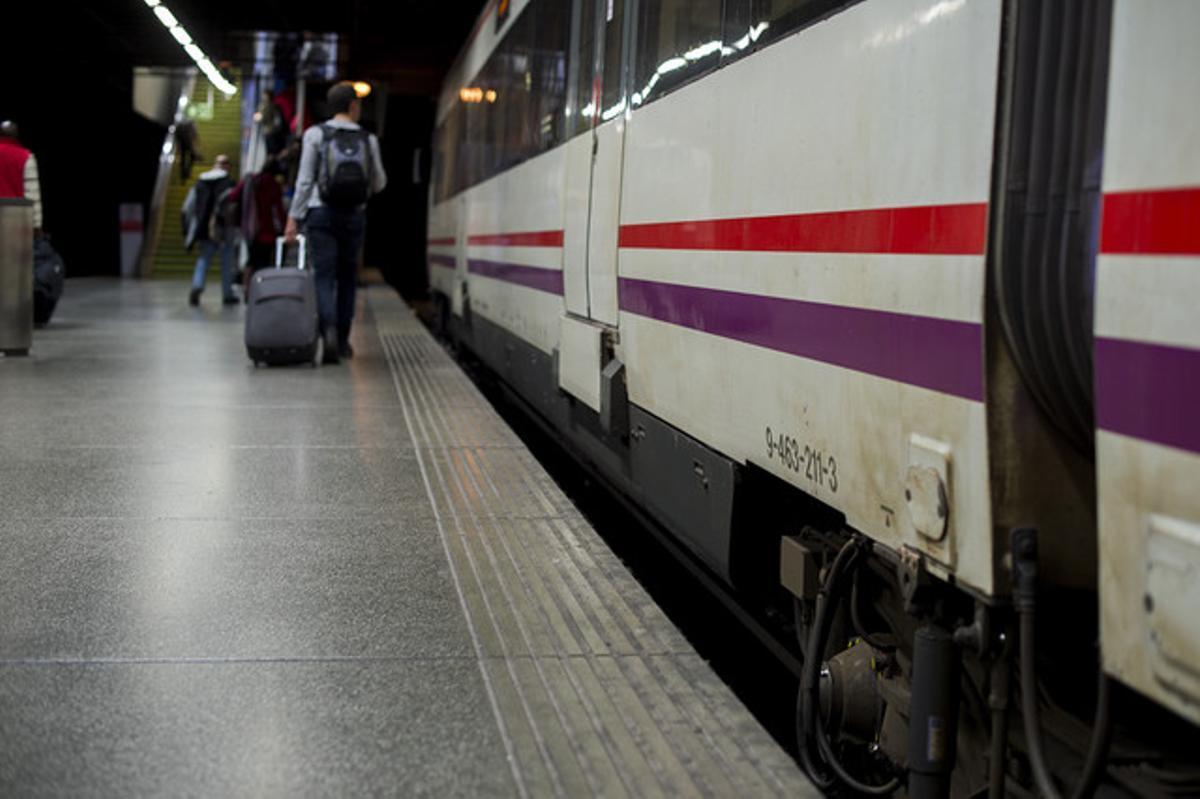 Estación de Rodalies de Clot-Aragó.