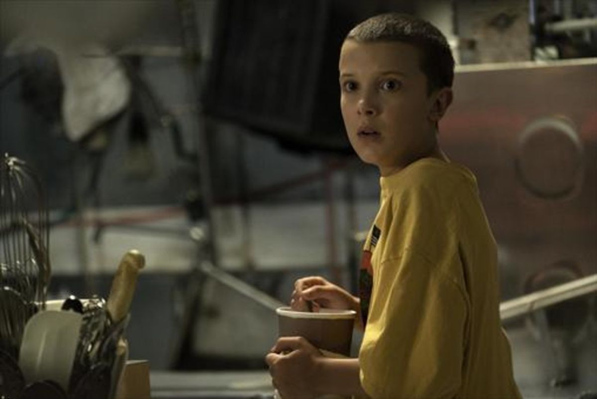 La joven Millie Bobby Brown, en 'Stranger Things', de Netflix.