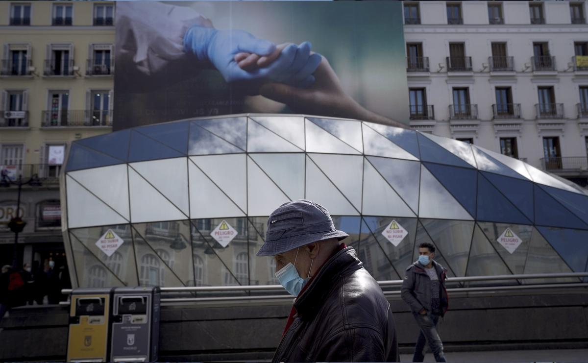 Ambiente en el centro de Madrid ante los anuncios de nuevas restricciones por el coronavirus.