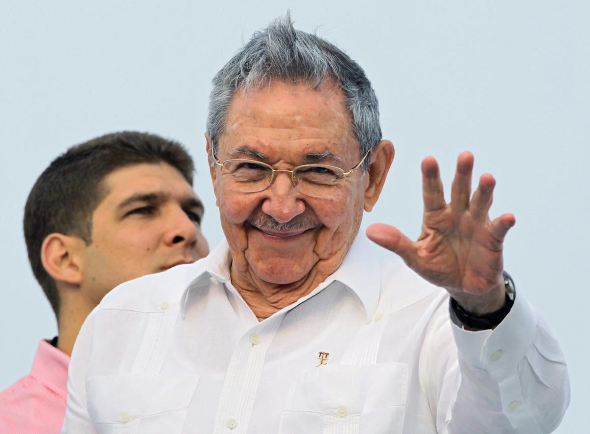 El expresidente de Cuba, Raúl Castro.