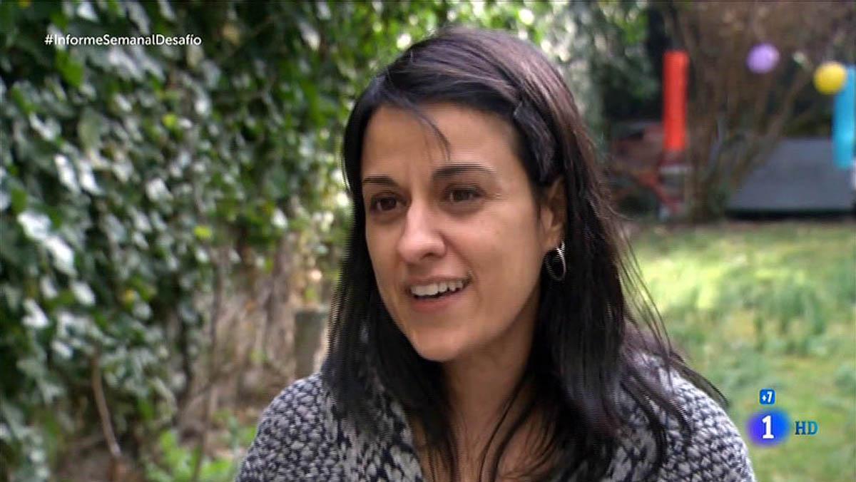 Anna Gabriel, diseccionada en 'Informe semanal' (TVE-1).