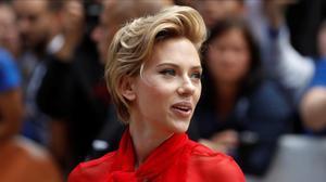 Scarlett Johansson posa en el Festival de Toronto, el pasado mes de septiembre.