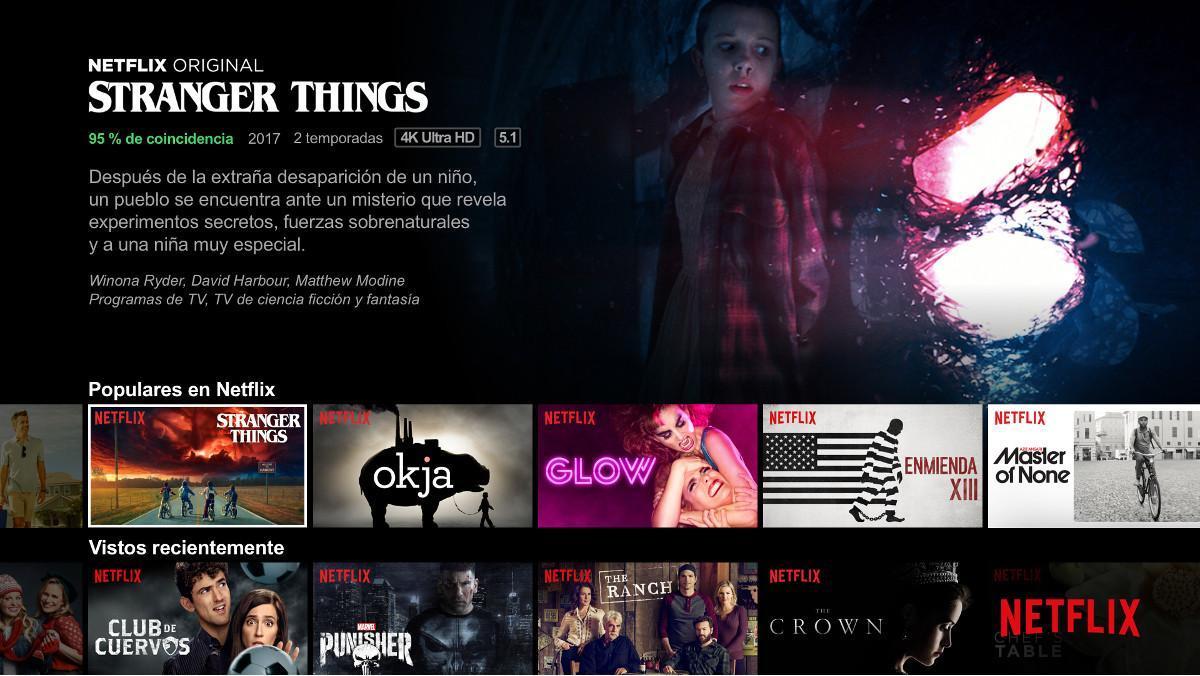 Netflix amplía sus opciones de contratación mensual