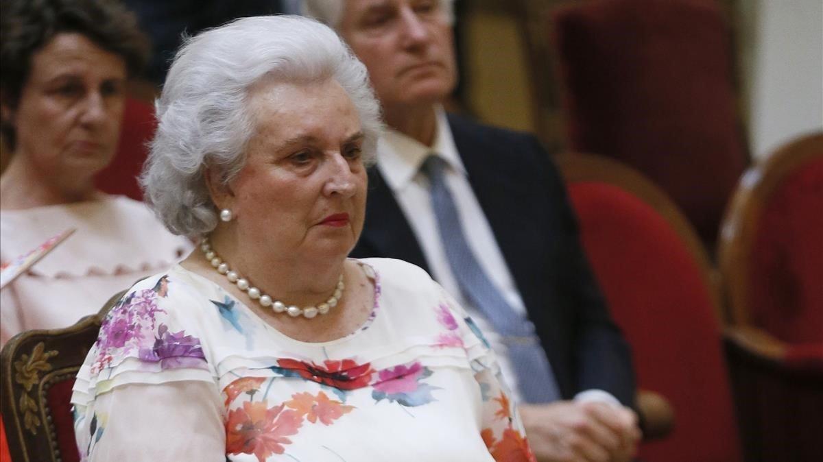 Pilar de Borbón.