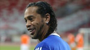 El exazulgrana Ronaldinho 'Gaúcho' en una imagen de archivo.