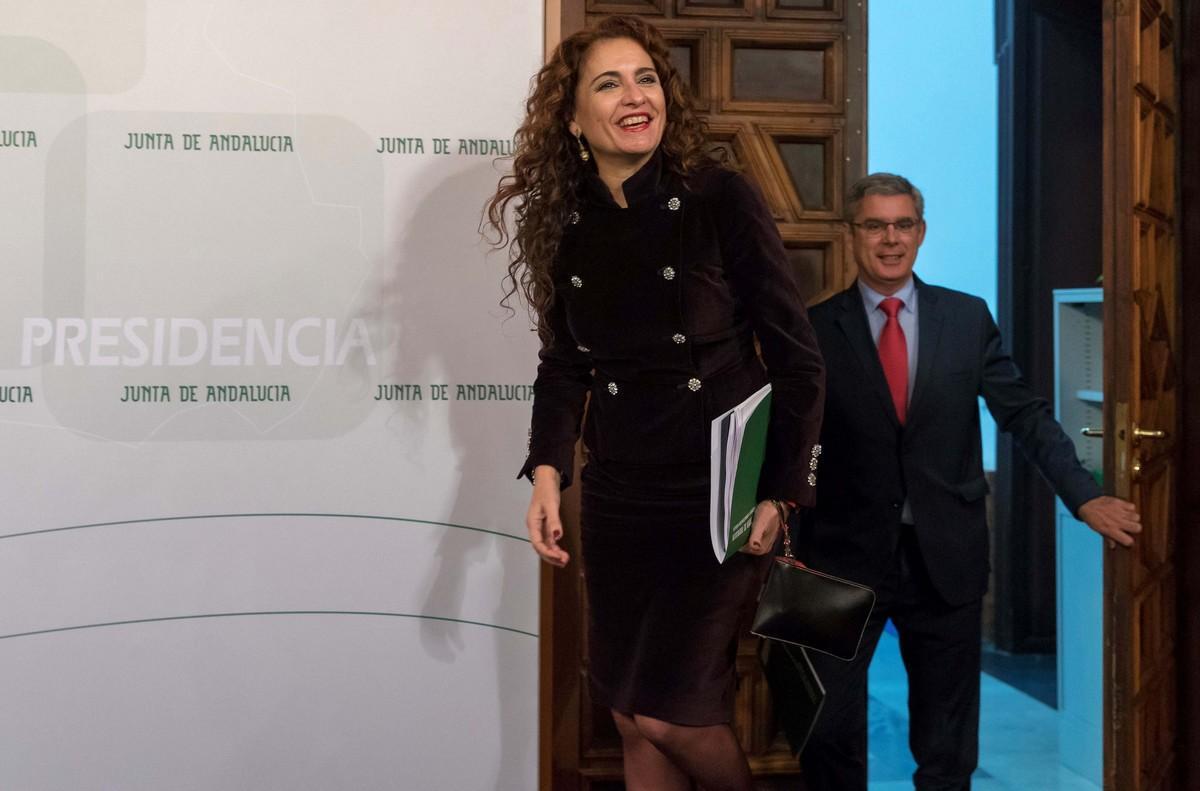 María Jesús Montero, nueva ministra de Hacienda.
