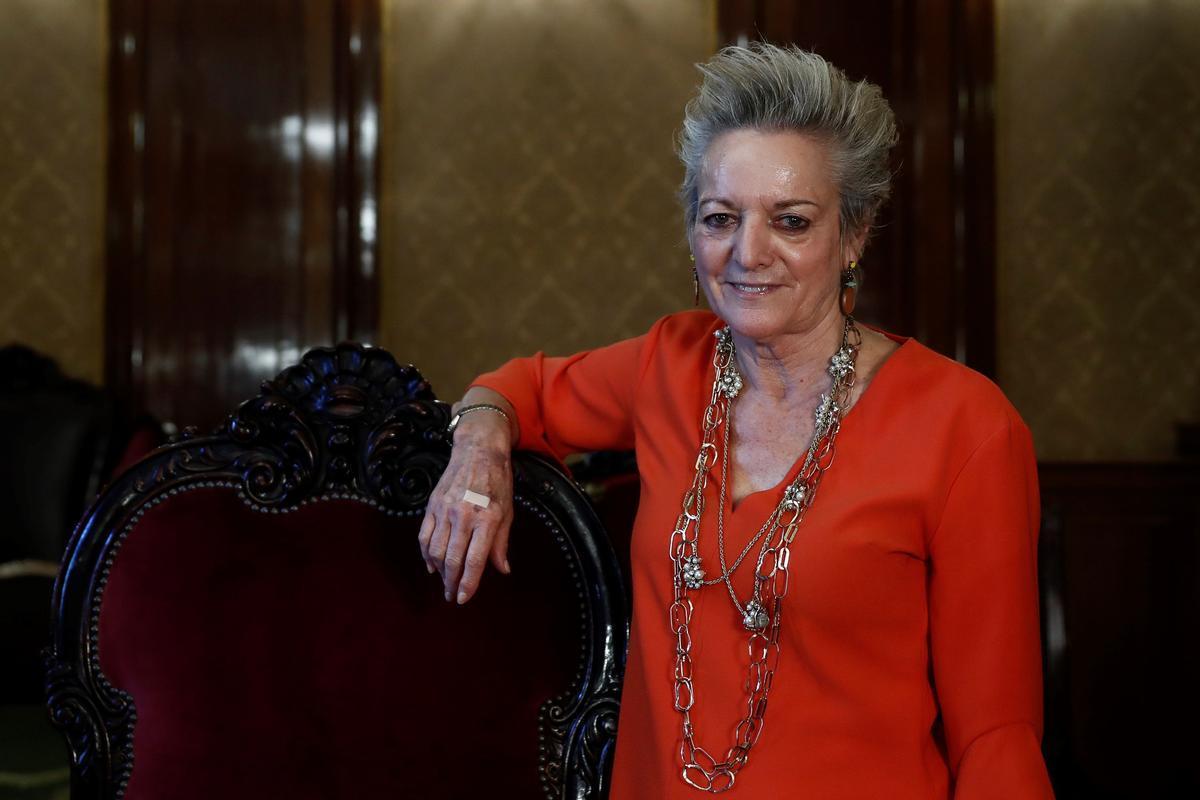 María Luisa Segoviano, la jueza que rompió el techo de cristal del Supremo.