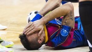 Sergio Lozano es trenca el genoll per tercera vegada: «Ara ho veig tot negre»