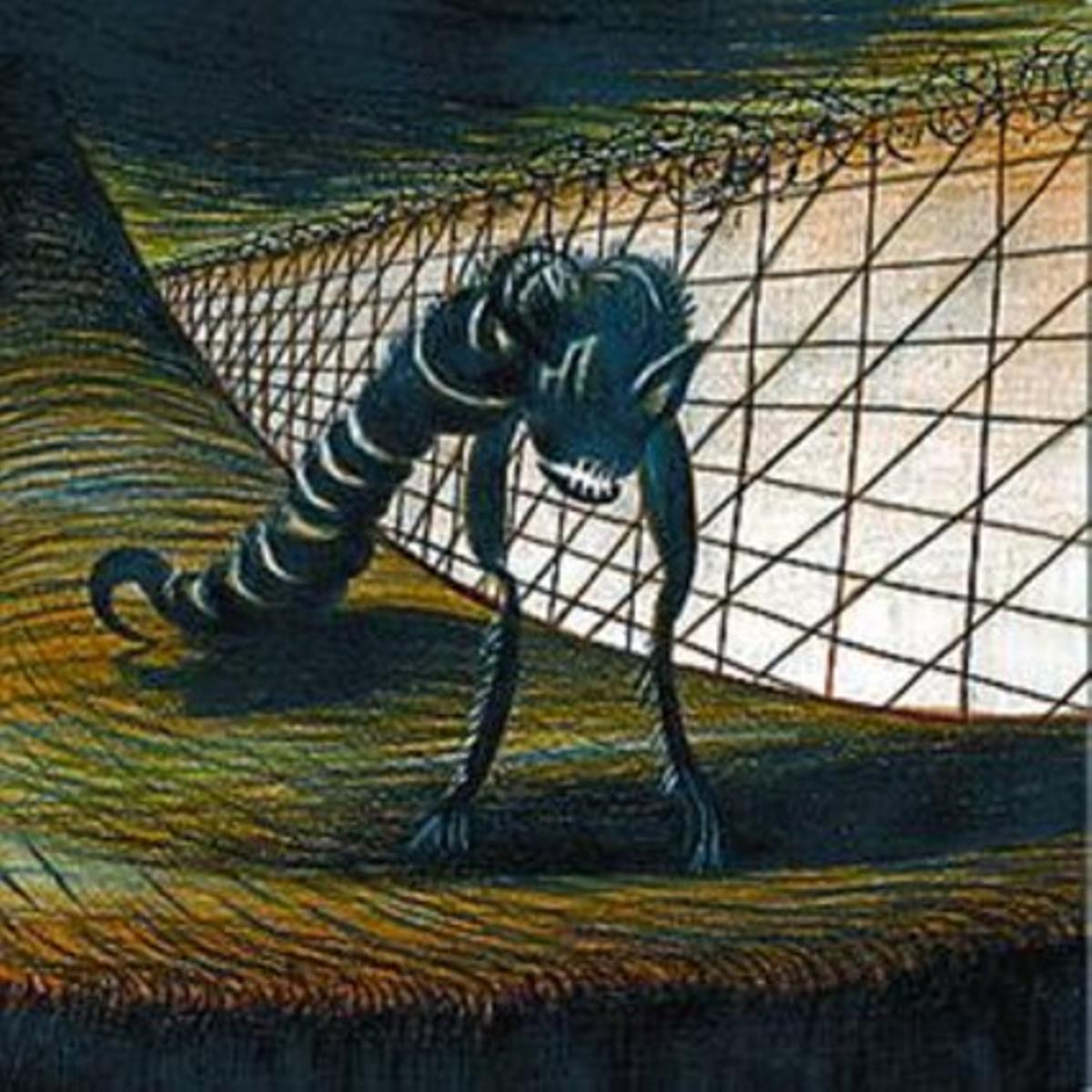 Mentes atormentadas  8 Tres de las ilustraciones realizadas por el dibujante Lorenzo Mattotti para el libro.