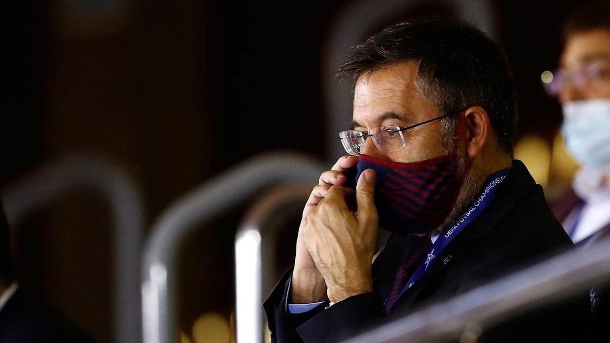 Josep María Bartomeu, expresidente del FC Barcelona.