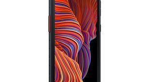Móvil todoterreno de Samsung.
