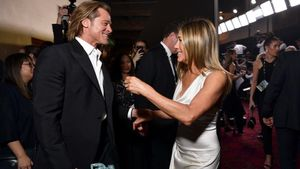 Brad Pitt i Jennifer Aniston acaparen el protagonisme en els premis SAG