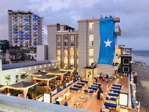 Una imagen promocional del hotel Elite, objeto de un atentado yihadista en Mogadiscio.