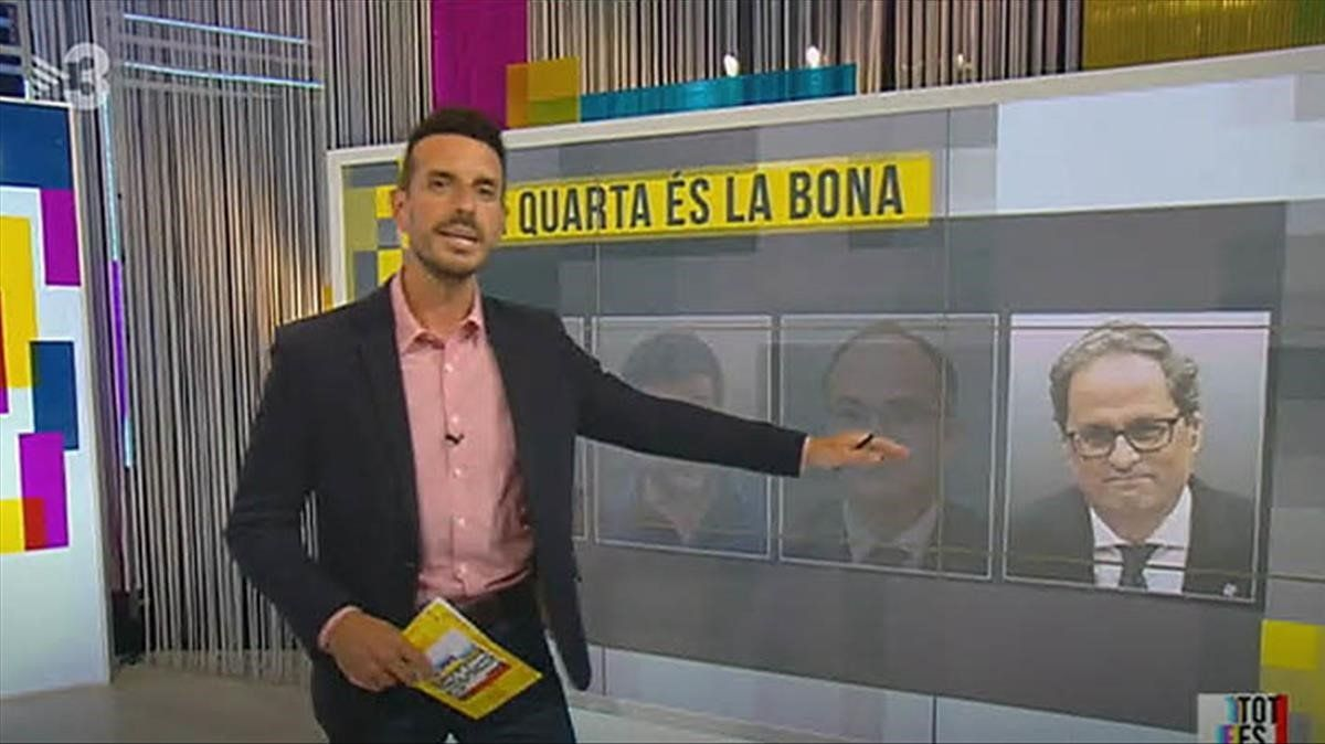 Segons TV-3 l''opció Torra' és la bona