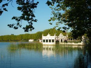 El estany de Banyoles, ideal para hacer deporte.