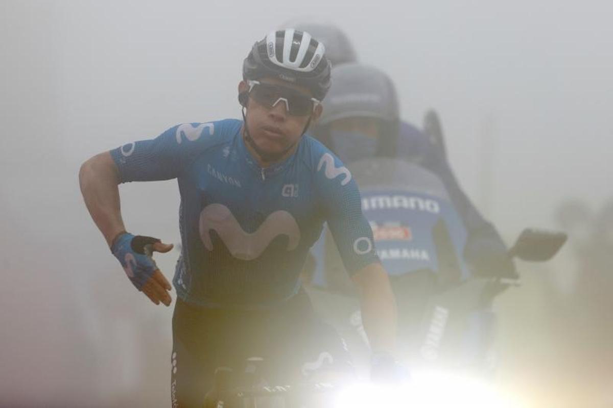Miguel Ángel López, bajo la niebla, se impone en el Gamoniteiru.