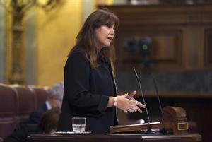 Pleno del congreso de los Diputados , en la imagen Laura Borràs.