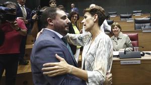 Navarra: Els socialistes donen la presidència del Parlament a Geroa Bai després d'un pacte d'última hora