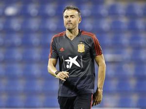 El seleccionador español Luis Enrique Martínez.