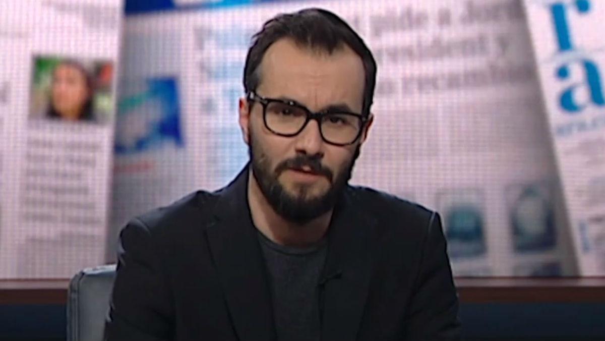 Jair Domínguez, en el programa 'Està passant', de TV-3.