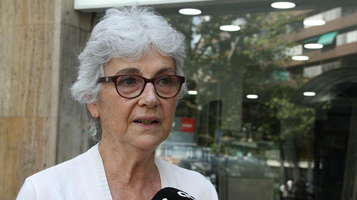 Muriel Casals explica la propuesta de lista civil por la independencia