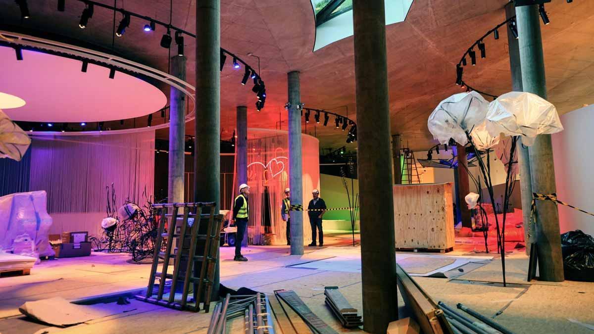 Dinamarca recrea en un museu sensorial i màgic l'univers d'Andersen