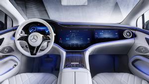 El Mercedes-Benz EQS viene del futuro