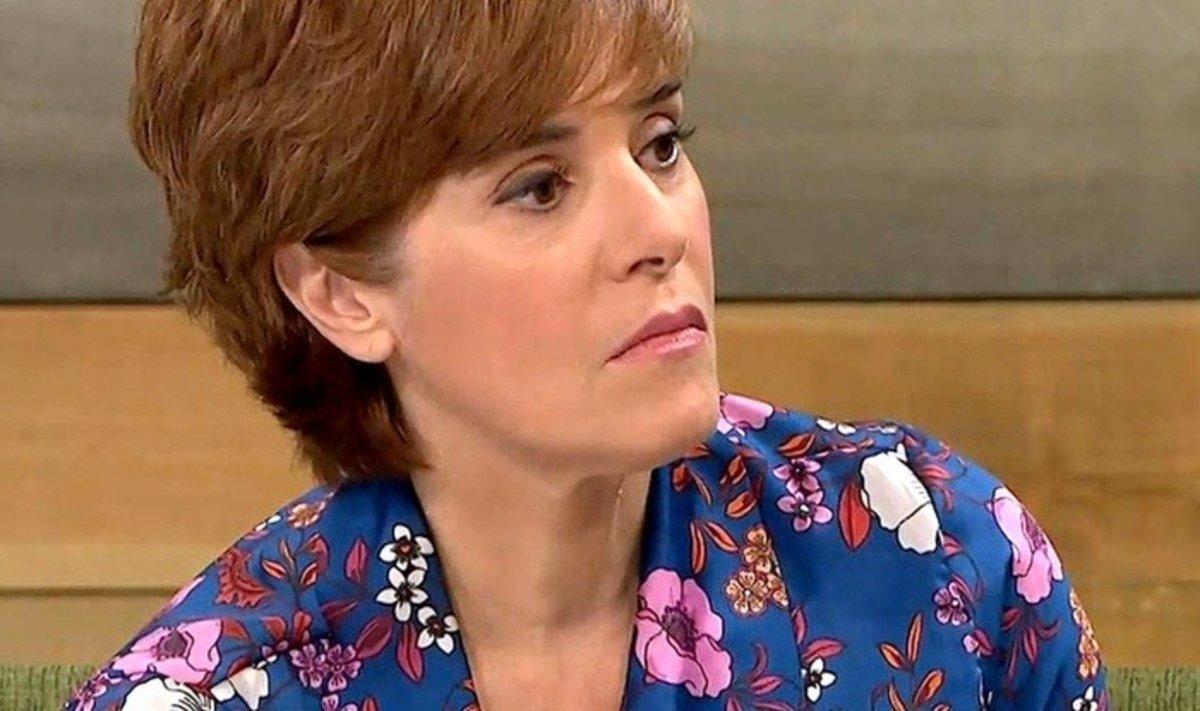 La tajante reacción de Anabel Alonso a la foto más criticada de Felipe y Letizia