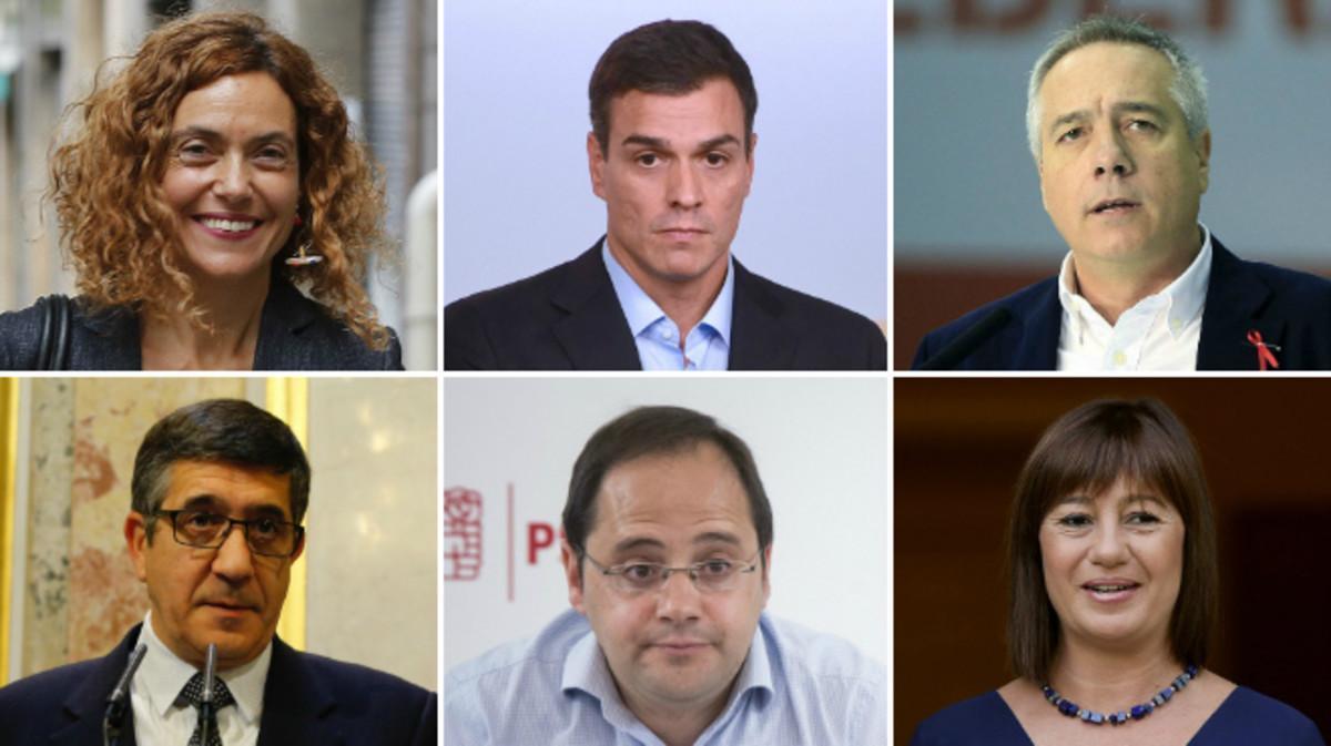 Aquests són els membres de l'executiva del PSOE que no han dimitit