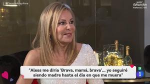 """Ana Obregón: """"Denunciaré a cualquier medio de comunicación que publique imágenes mías en el cementerio"""""""