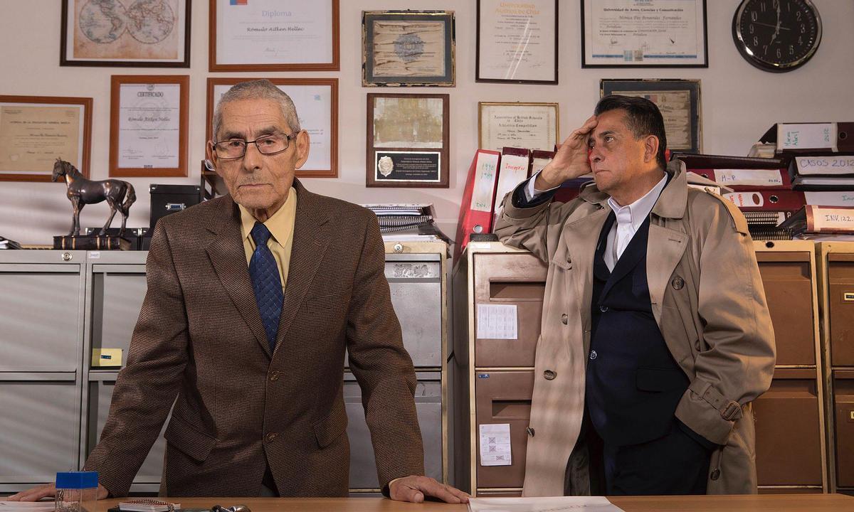 Escena de la película 'El agente topo'.