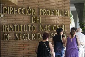 Delegación del Instituto Nacional de la Seguridad Social en Barcelona.