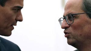 Sánchez inicia con Urkullu y Torra su ronda de llamadas a presidentes autonómicos.