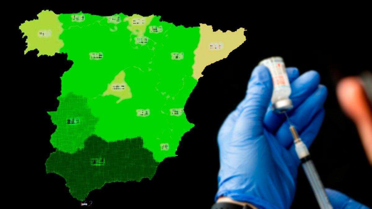 Así se acerca España a su primer objetivo de la campaña: vacunar a los mayores de 80 | Mapa